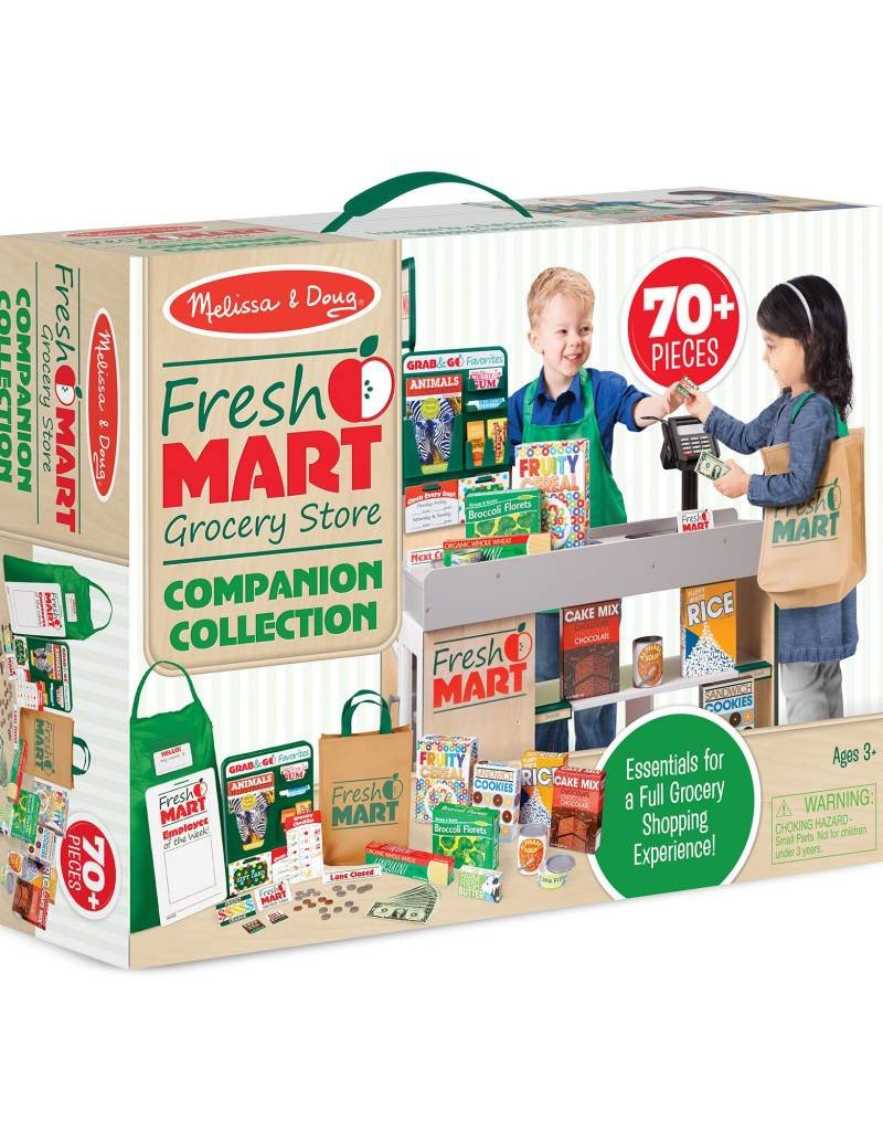 Melissa & Doug, LLC Fresh Mart Grocery Store Companion Collection