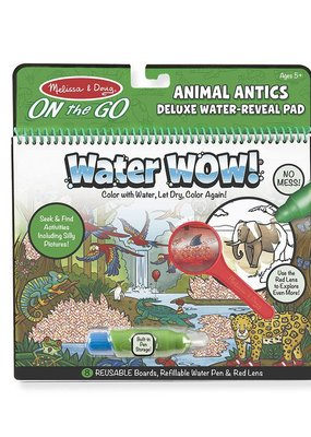 Melissa & Doug, LLC water wow animal antics deluxe reveal