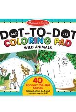 Melissa & Doug, LLC abc 123 dot to to animals