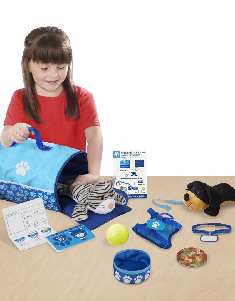 tote and tour pet travel play set