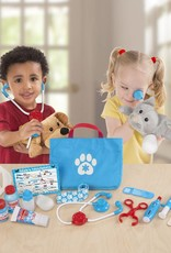 examine and treat pet vet play set