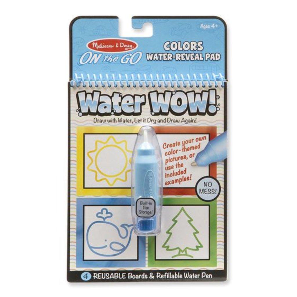Melissa & Doug, LLC Color & Shapes Water Wow!