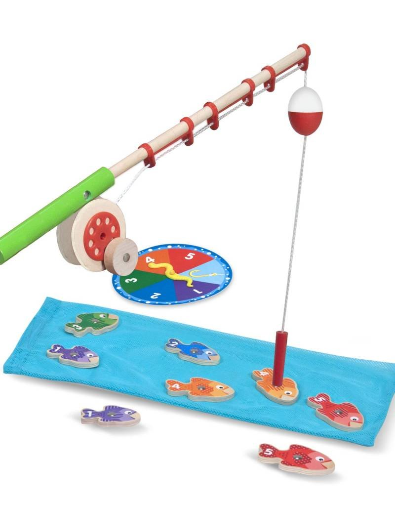 Melissa & Doug, LLC Catch & Count Fishing Game