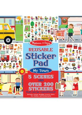Melissa & Doug, LLC My Town Reusable Sticker Pad
