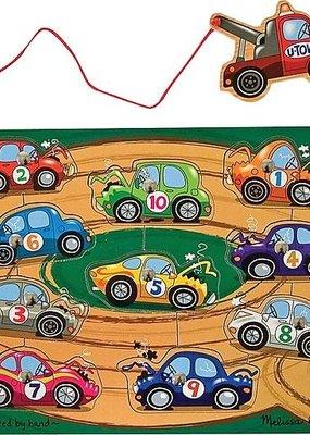 Melissa & Doug, LLC Tow Truck Puzzle Game