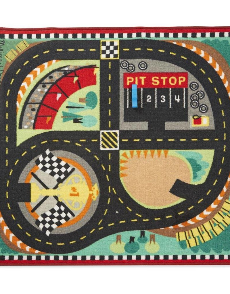 Melissa & Doug, LLC Round the Race Track Rug