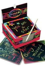 Melissa & Doug, LLC Rainbow Mini Scratch Art Notes