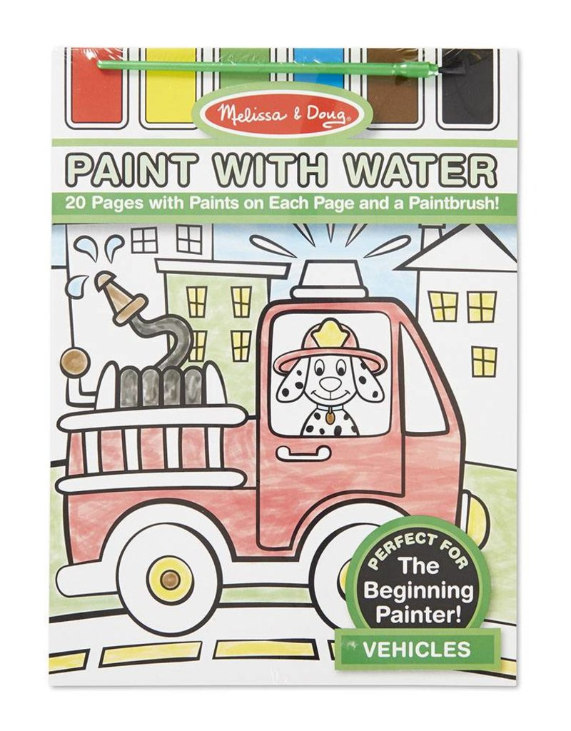 Melissa & Doug, LLC Vehicle Paint with Water