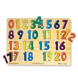 Melissa & Doug, LLC Numbers Sound Puzzle
