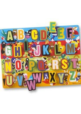 Melissa & Doug, LLC ABC Chunky Puzzles