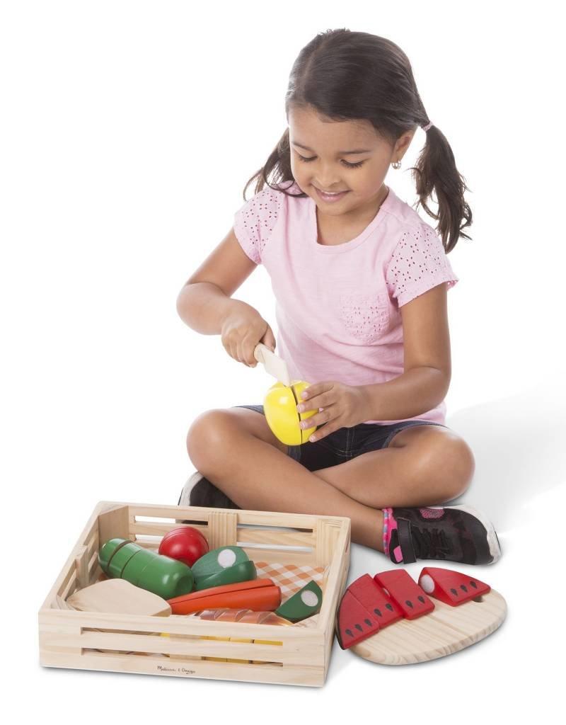 Melissa & Doug, LLC Cutting Food Box