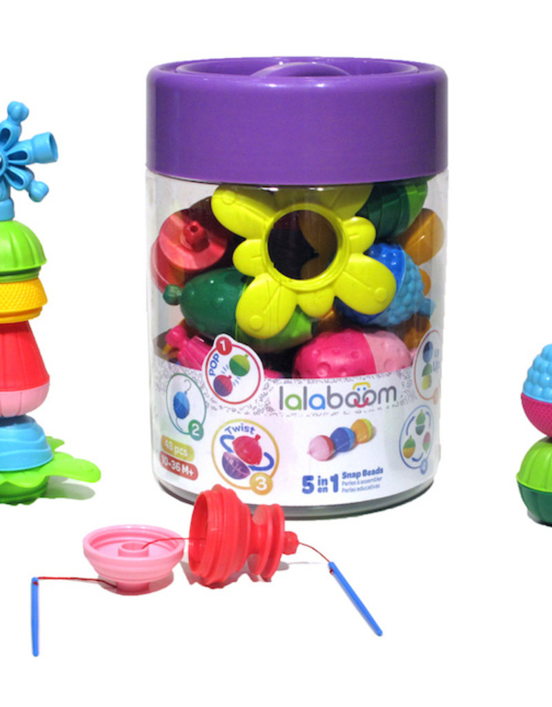 Fat Brain Toy Co Lalaboom 48 PC Set
