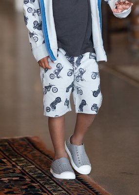 Bit'z Kids Motorcycle Printed Shorts