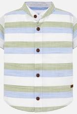 Mayoral USA Oregano S/S Stripe Shirt