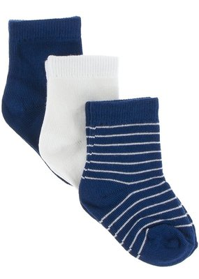 Kickee Pants Navy Sock Set
