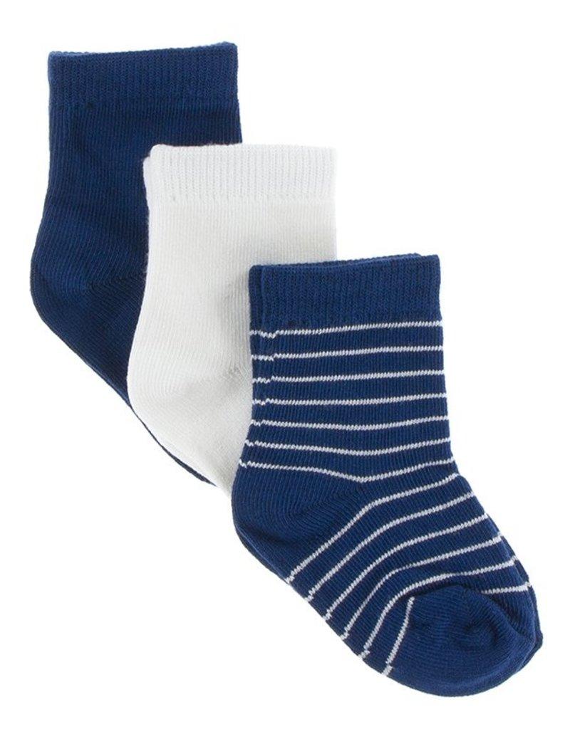 Navy Sock Set