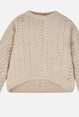 Mayoral USA lurex knit sweater