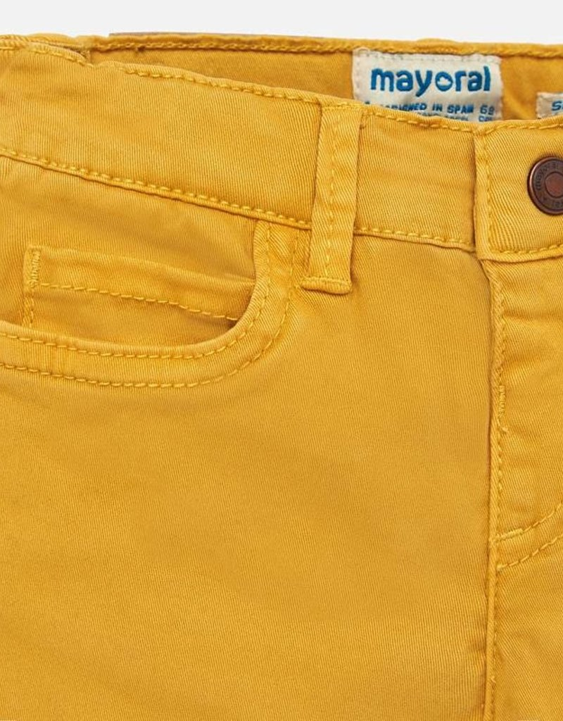 Mayoral USA mustard 5 pocket pant
