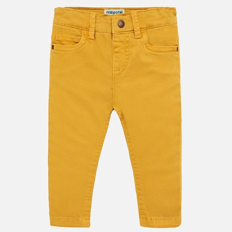 Mayoral USA mustard 5 pocket pant
