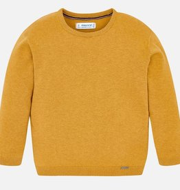 Mayoral USA mustard knit sweater