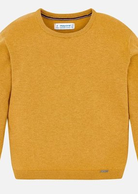 Mayoral USA mustard knit sweater