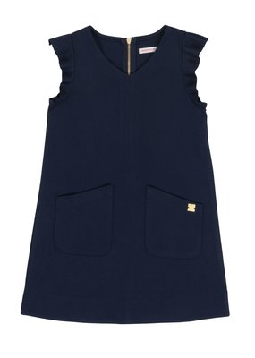 Deux Par Deux Navy Milano Dress
