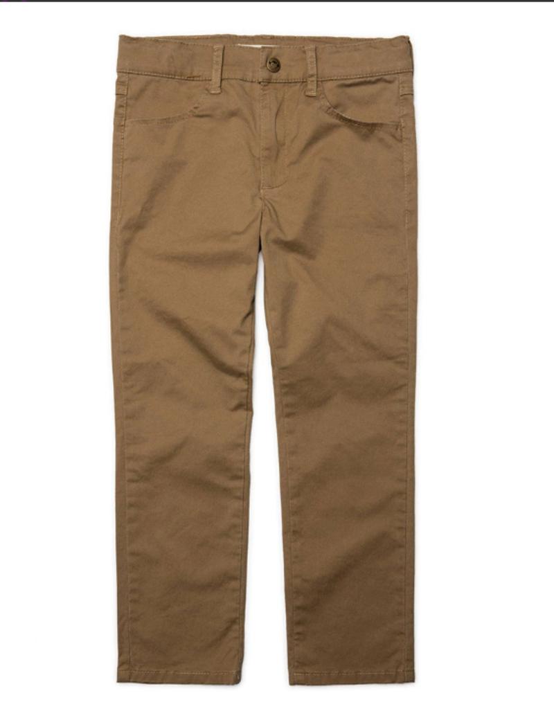 Appaman Dark Khaki Skinny Twill Pant