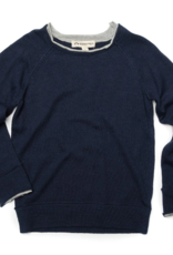 Appaman Dark Navy Jackson Roll Neck Sweater