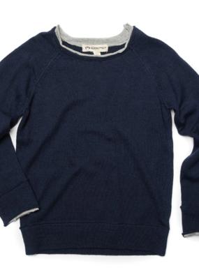 Appaman Dark Navy Jackson Roll Neck Sweater