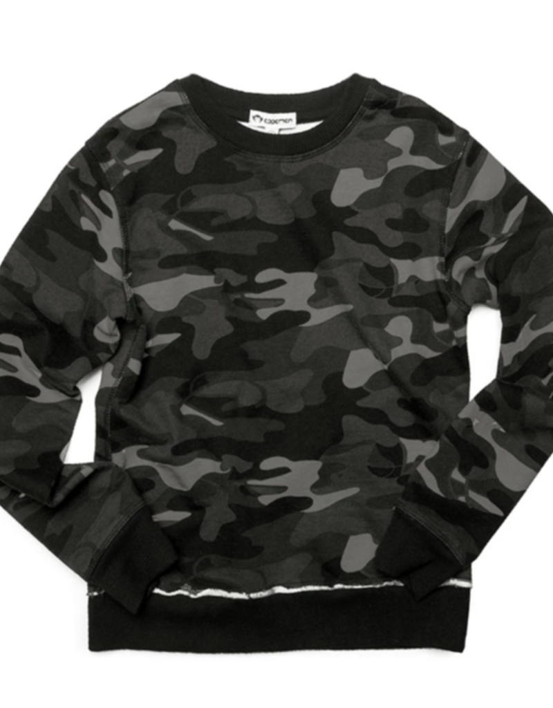 Appaman Carbon Camo Highland Sweatshirt