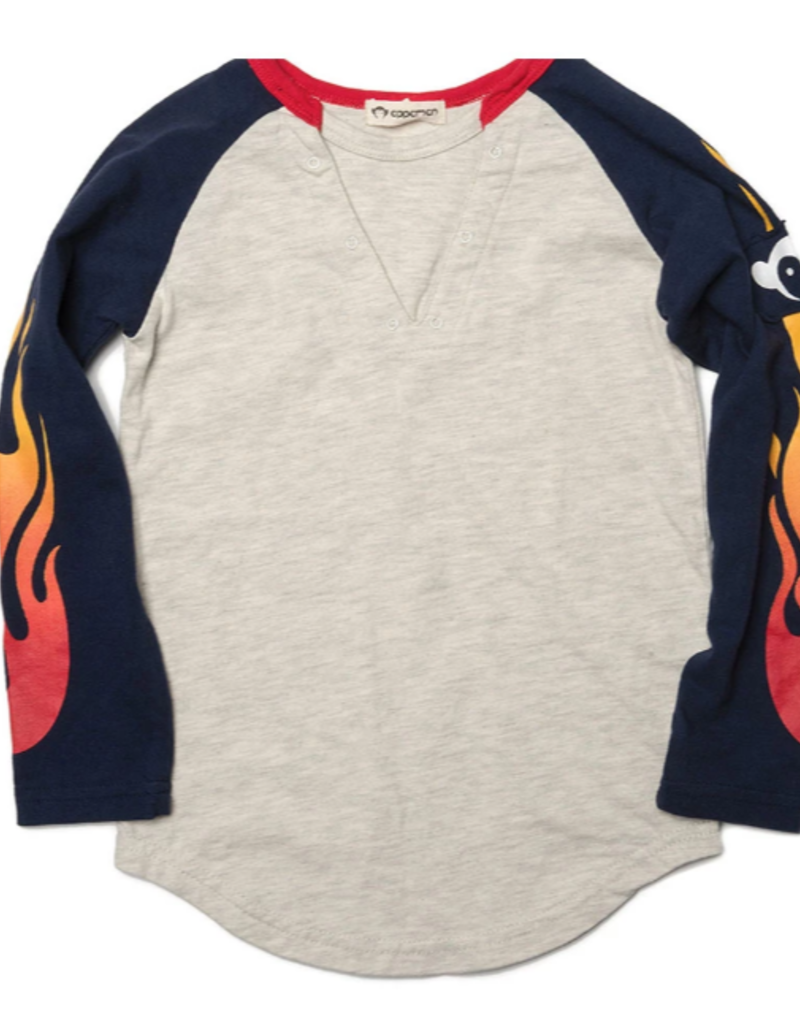 Appaman Lightening Bolt Baseball Tee
