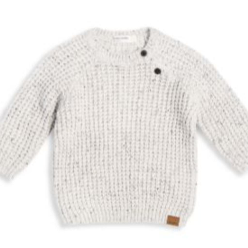 Petit lem Be Kind Rewind baby off white sweatshirt