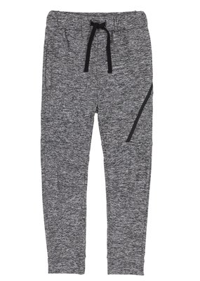 Deux Par Deux Light Grey Mix Jogger Pants