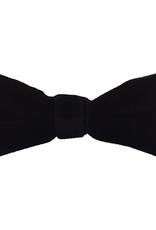 Fore! Evergreen Velvet Bow Tie