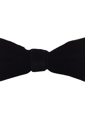 Fore! Evergreen Velvet Bow Tie