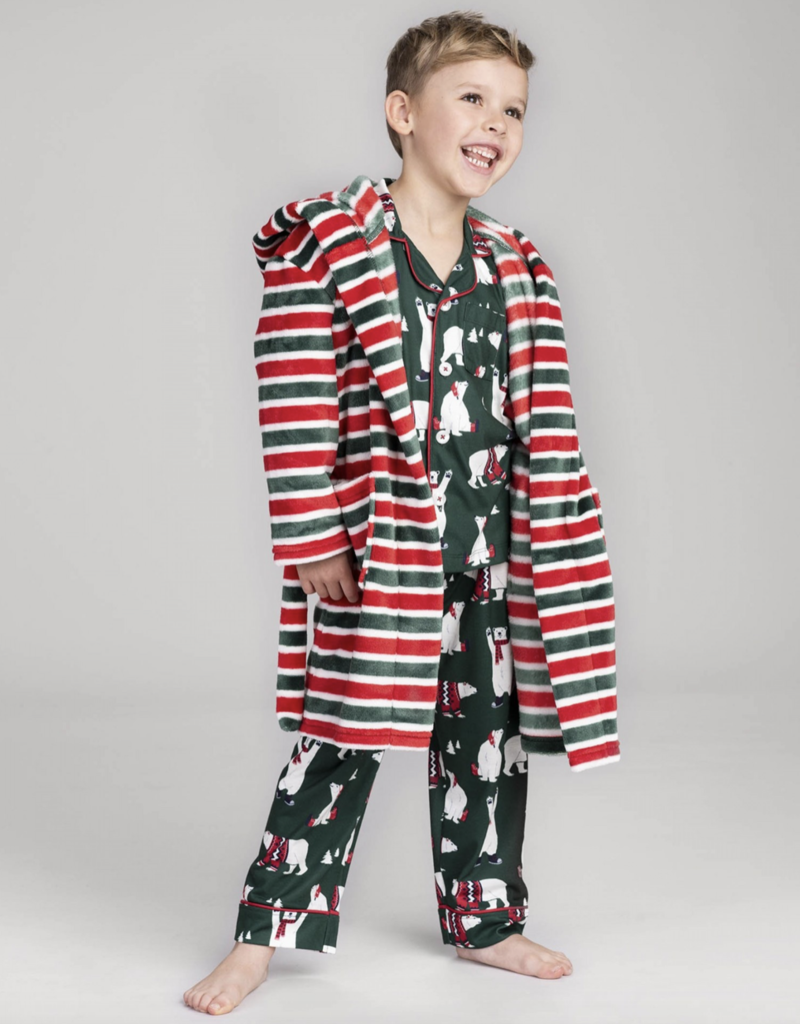 Hatley Holiday Polar Bears PJs