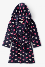 Hatley Lovey Hearts Fleece Robe