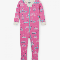 Hatley Pretty Princess Footed Coverall