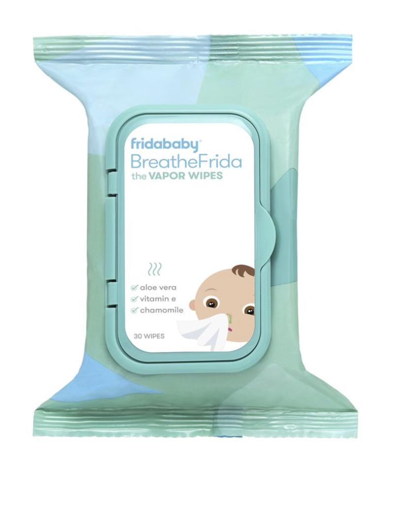 FridaBaby BreatheFriday Nose-Chest Wipes
