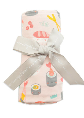 Angel Dear uni sushi swaddle blanket