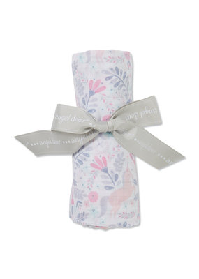 Angel Dear Unicorn bamboo swaddle blanket