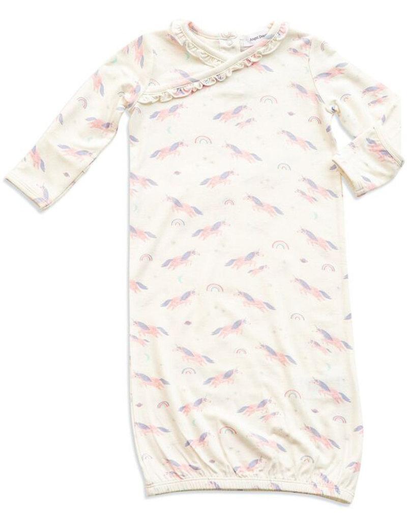 Angel Dear Cosmic Unicorn Kimono Gown 0-3m