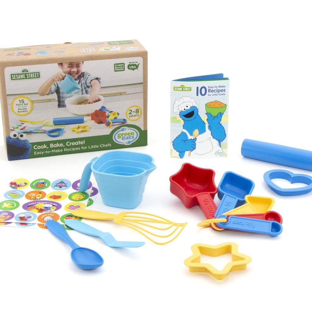 Green Toys Sesame Street Cook, Bake, & Create