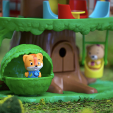 Fat Brain Toy Co Timber Tots Tree House