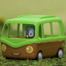 Fat Brain Toy Co Timber Tots Adventure Bus