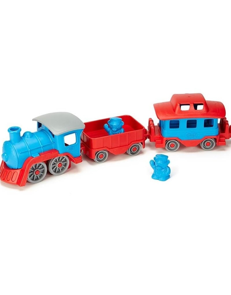 Green Toys Blue Train Set