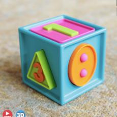 Fat Brain Toy Co Smarty Cube 1 2 3