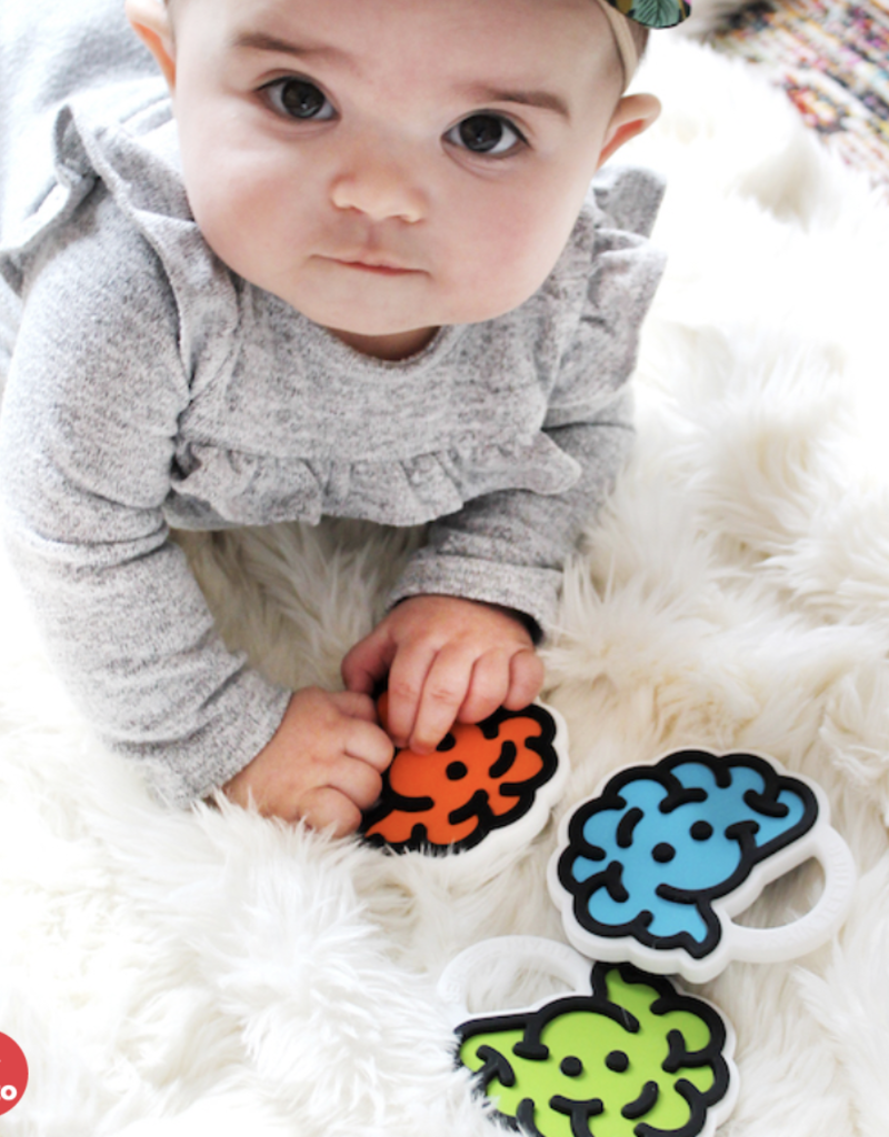Fat Brain Toy Co Brain Teether