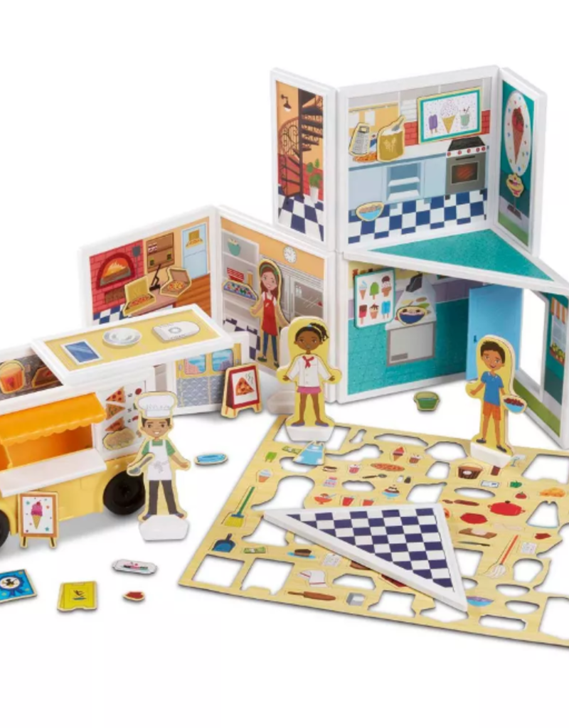 Melissa & Doug, LLC Magnetivity: Pizza & Ice Cream Shop