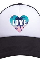 Tiny Trucker Co. Youth Heart Trucker Hat